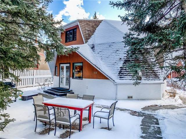 929 17th Street, Canmore, AB T1W 1X7 (#C4280842) :: Canmore & Banff