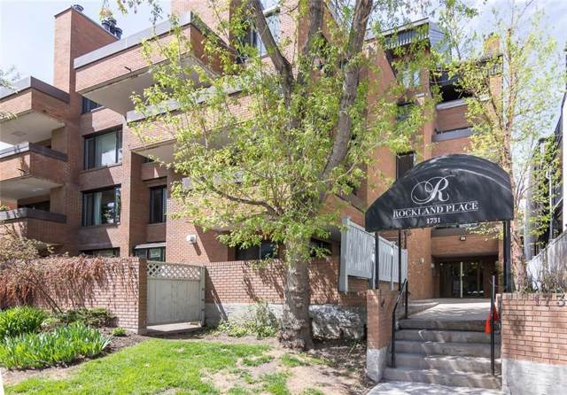 1731 9A Street SW #302, Calgary, AB T2T 3E7 (#C4280871) :: Canmore & Banff