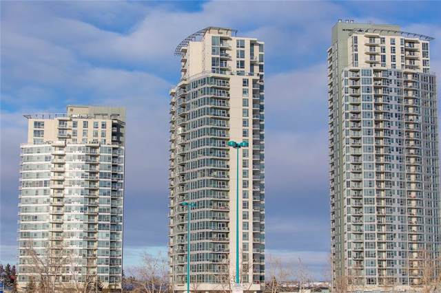 77 Spruce Place SW #2305, Calgary, AB T3C 3X6 (#C4280886) :: Canmore & Banff