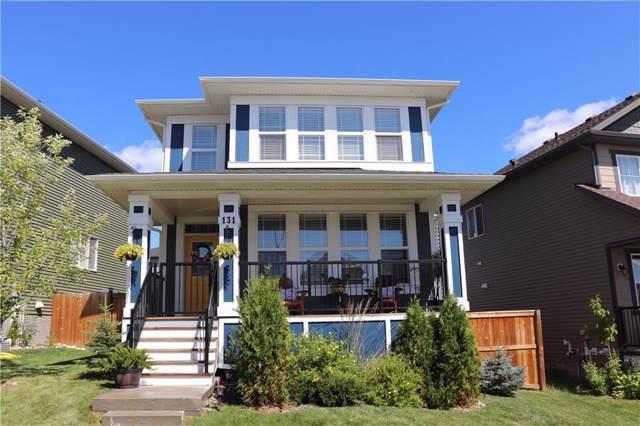 131 Heritage Drive, Cochrane, AB T4C 0Y3 (#C4281004) :: Redline Real Estate Group Inc