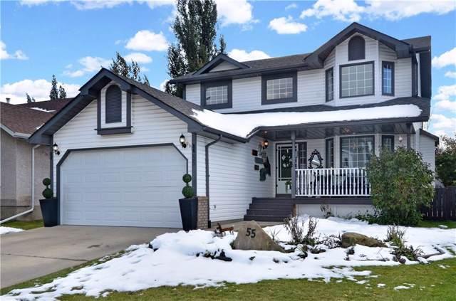 55 Cimarron Way, Okotoks, AB  (#C4281119) :: Redline Real Estate Group Inc