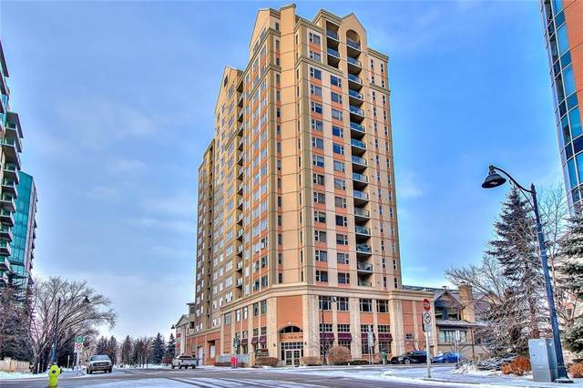 200 La Caille Place SW #802, Calgary, AB T2P 5E2 (#C4281230) :: Canmore & Banff