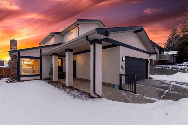 585 Silvergrove Drive NW, Calgary, AB T3B 4R9 (#C4281297) :: The Cliff Stevenson Group
