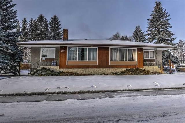 2215 & 2215a 16 Street NW, Calgary, AB T2M 3P8 (#C4281389) :: Redline Real Estate Group Inc