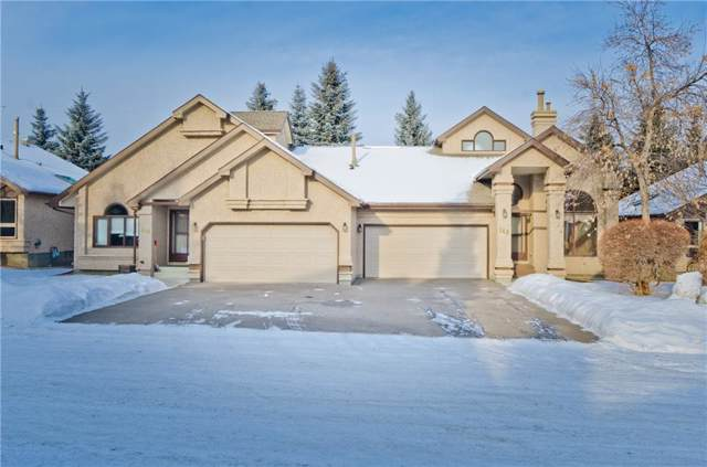 144 Oakbriar Close SW, Calgary, AB T2V 5G8 (#C4281528) :: The Cliff Stevenson Group