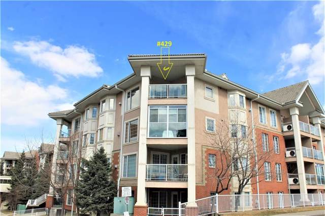 8535 Bonaventure Drive SE #429, Calgary, AB T2H 3A1 (#C4281627) :: Canmore & Banff