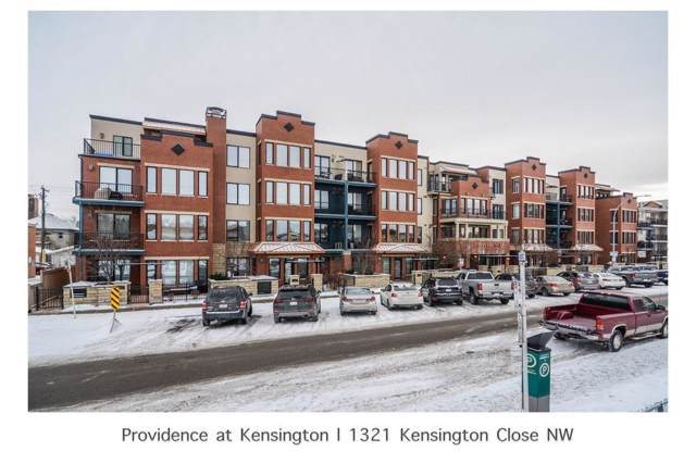 1321 Kensington Close NW #107, Calgary, AB T2K 2K2 (#C4281631) :: Virtu Real Estate