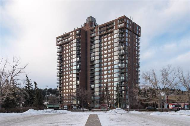 145 Point Drive NW #705, Calgary, AB T3B 4W1 (#C4281820) :: The Cliff Stevenson Group