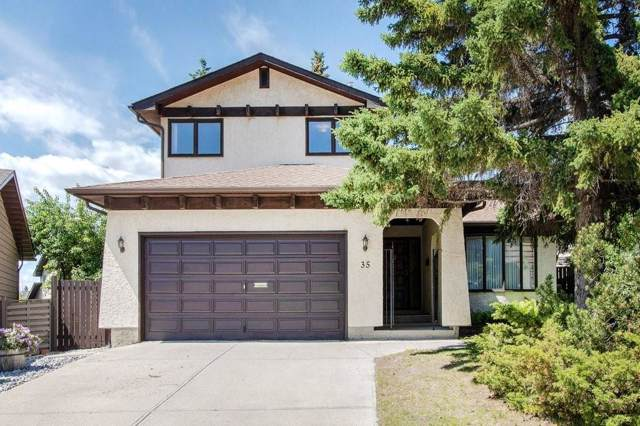 35 Edgewood Place NW, Calgary, AB T3A 2T8 (#C4281858) :: Canmore & Banff