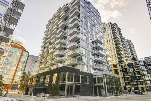 108 Waterfront Court SW #507, Calgary, AB T2P 1K7 (#C4281994) :: Canmore & Banff