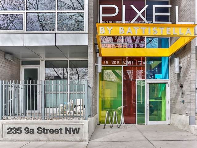 235 9A Street NW #607, Calgary, AB T2N 4H7 (#C4282039) :: Redline Real Estate Group Inc