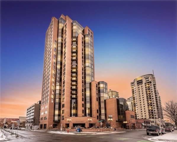 1100 8 Avenue SW #1603, Calgary, AB T2P 3T9 (#C4282070) :: Western Elite Real Estate Group