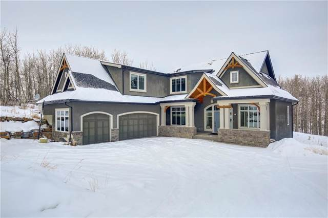8 Villosa Ridge Drive, Rural Rocky View County, AB T3Z 1H2 (#C4282088) :: Calgary Homefinders