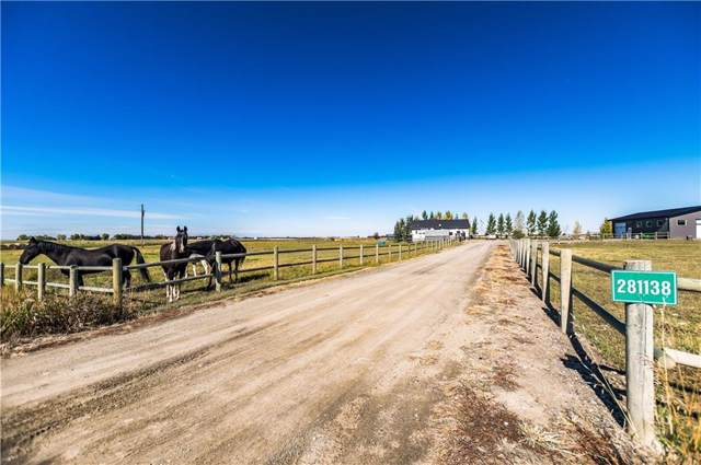 281138 Twp Rd 224, Rural Rocky View County, AB T1X 0J1 (#C4282181) :: Redline Real Estate Group Inc