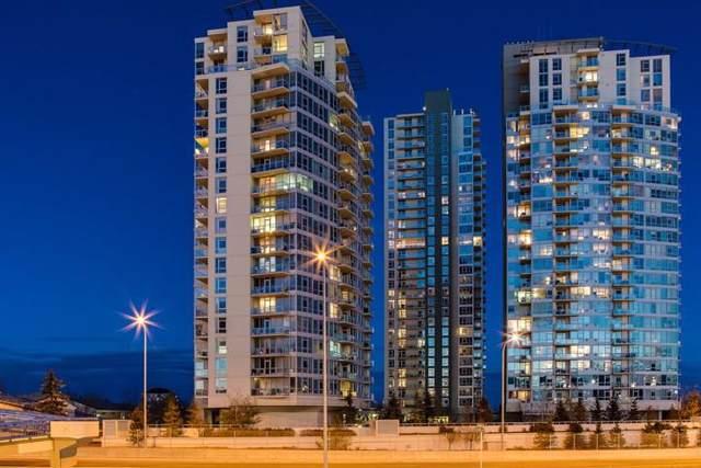 77 Spruce Place SW #502, Calgary, AB T3C 3X6 (#C4282254) :: Redline Real Estate Group Inc