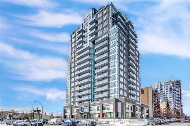 1501 6 Street SW #302, Calgary, AB T2R 0Z7 (#C4282566) :: Redline Real Estate Group Inc