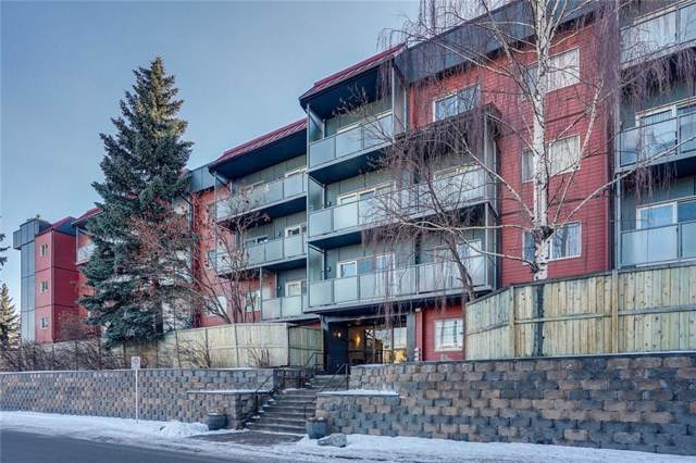 335 Garry Crescent NE #203, Calgary, AB T2K 5X1 (#C4282716) :: The Cliff Stevenson Group