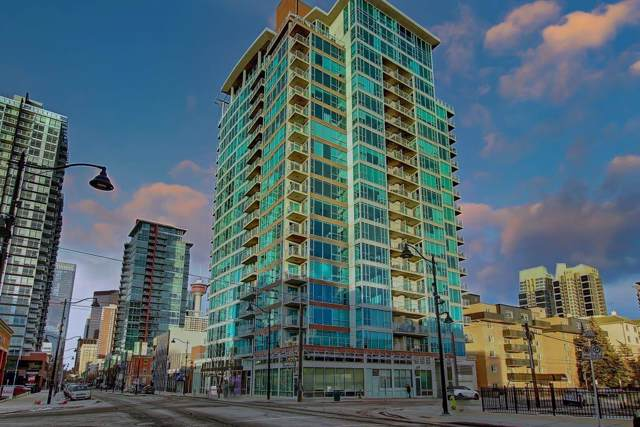 188 15 Avenue SW #1809, Calgary, AB T2R 1S4 (#C4282879) :: Redline Real Estate Group Inc