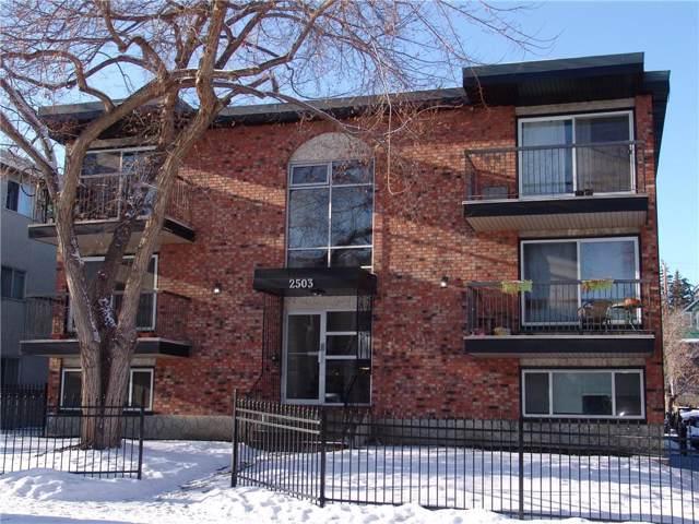 2503 17 Street SW #204, Calgary, AB T2T 4M9 (#C4282880) :: Redline Real Estate Group Inc