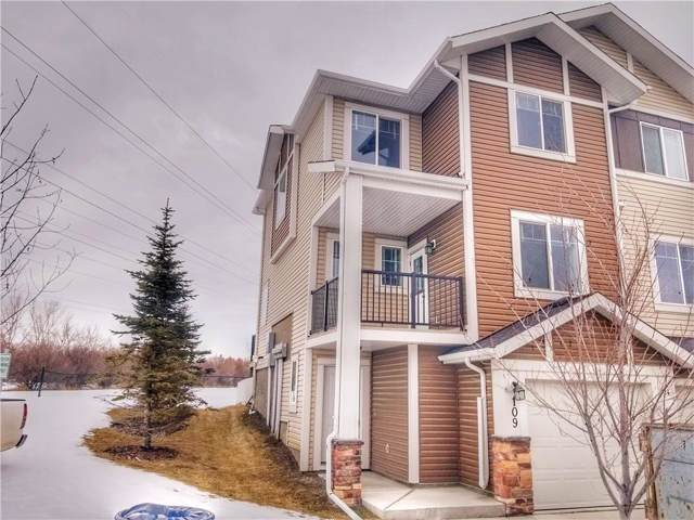 300 Marina Drive #109, Chestermere, AB T1X 0A9 (#C4282941) :: Redline Real Estate Group Inc