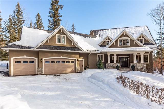 16 Wintergreen Way, Bragg Creek, AB T0L 0K0 (#C4282963) :: The Cliff Stevenson Group