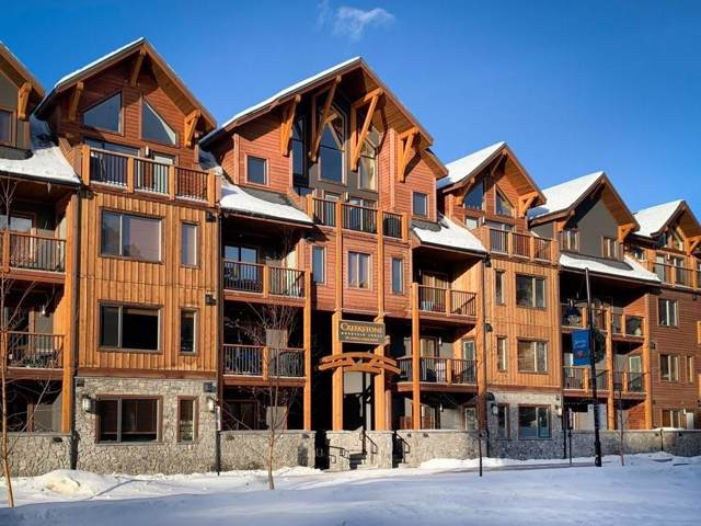 707 Spring Creek Drive #309, Canmore, AB T1W 0K7 (#C4283022) :: The Cliff Stevenson Group