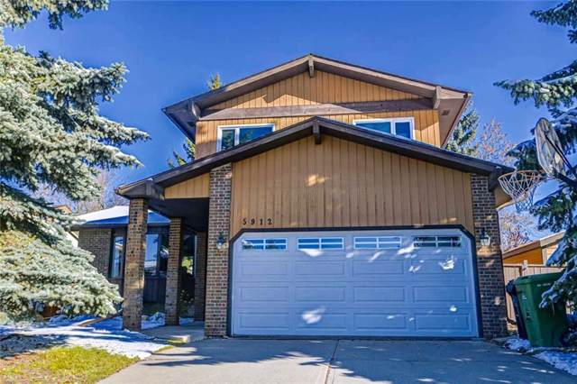 5912 Dalcastle Crescent NW, Calgary, AB T3A 1S4 (#C4283088) :: The Cliff Stevenson Group