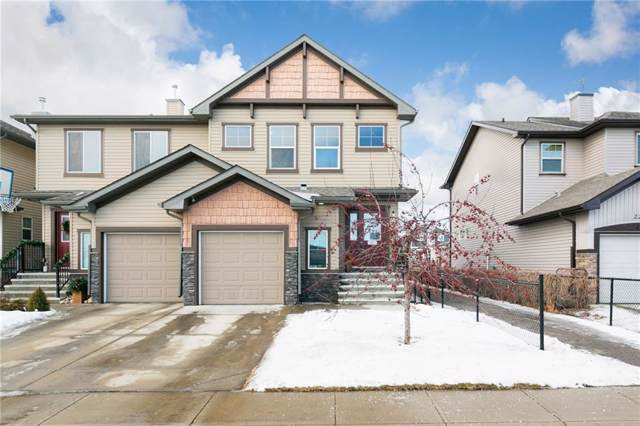 217 Luxstone Way SW, Airdrie, AB T4B 3C1 (#C4283243) :: Redline Real Estate Group Inc