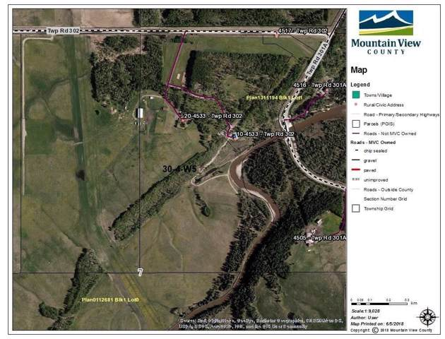 Twp Rd 302, Rural Mountain View County, AB T0M 0R0 (#C4283322) :: Redline Real Estate Group Inc