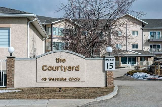 43 Westlake Circle #312, Strathmore, AB T1P 1P6 (#C4283544) :: Redline Real Estate Group Inc