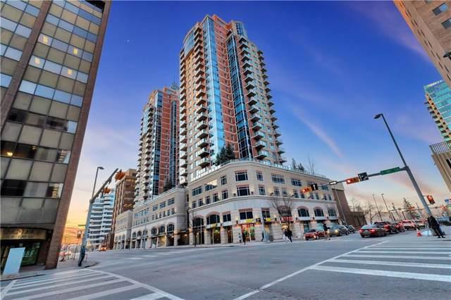 910 5 Avenue SW #1604, Calgary, AB T2P 5R4 (#C4283570) :: The Cliff Stevenson Group