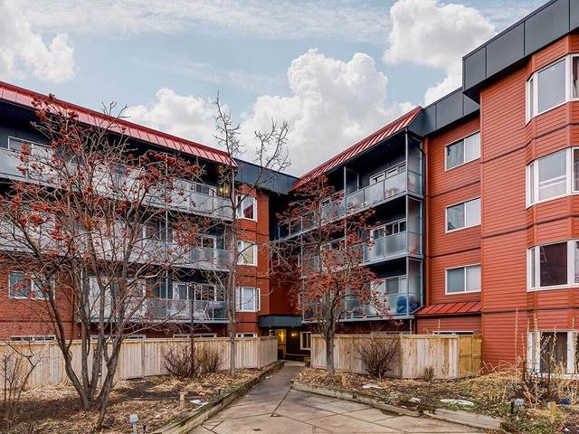 333 Garry Crescent NE #101, Calgary, AB T2K 5W9 (#C4285205) :: Redline Real Estate Group Inc