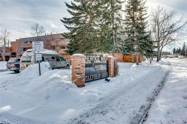 9500 Oakfield Drive SW #109, Calgary, AB T2V 0L1 (#C4285375) :: The Cliff Stevenson Group