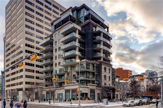701 3 Avenue SW #305, Calgary, AB T2P 5R3 (#C4285406) :: The Cliff Stevenson Group