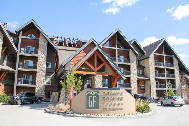 901 Mountain Street #419, Canmore, AB T1W 0C9 (#C4285601) :: Calgary Homefinders