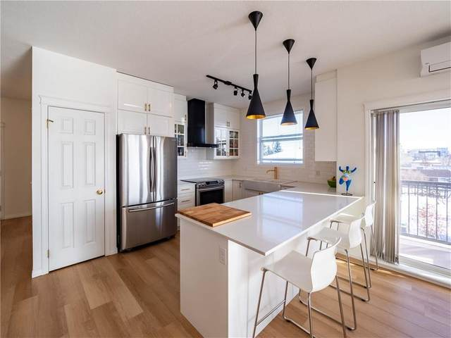 2134 Kensington Road NW #301, Calgary, AB T2N 3R7 (#C4285821) :: The Cliff Stevenson Group