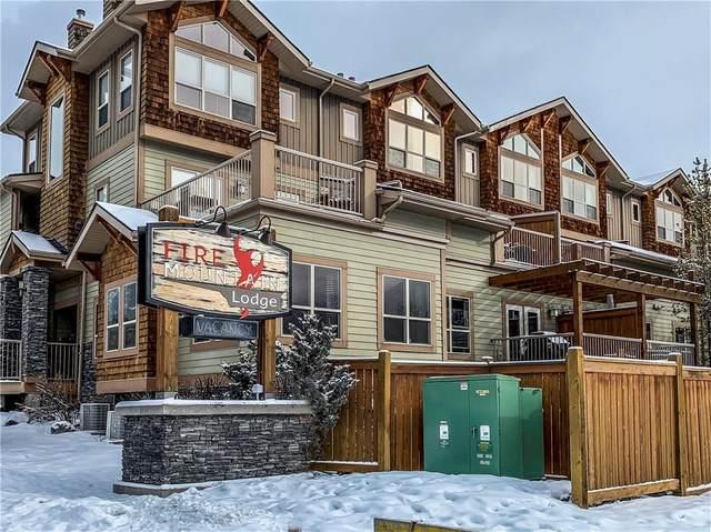 121 Kananaskis Way #110, Canmore, AB T1W 2X2 (#C4286257) :: Calgary Homefinders