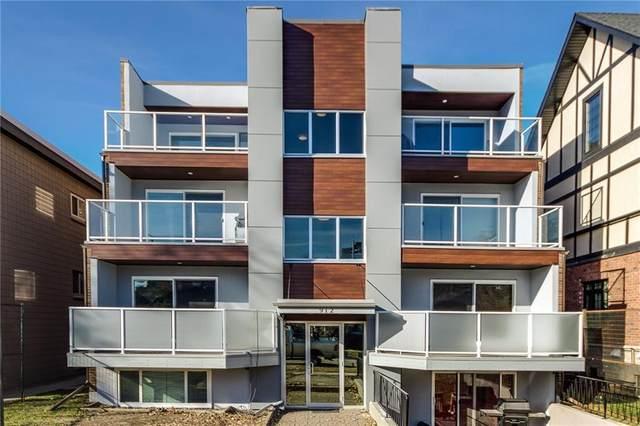 912 3 Avenue NW #4, Calgary, AB T2N 0J6 (#C4286304) :: Calgary Homefinders