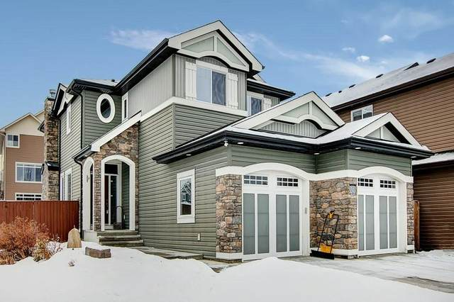 31 Jumping Pound Link, Cochrane, AB T4C 0K4 (#C4286323) :: Redline Real Estate Group Inc