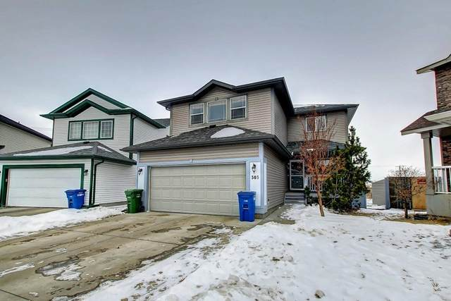303 Silver Springs Way NW, Airdrie, AB T4B 2Y4 (#C4286429) :: The Cliff Stevenson Group