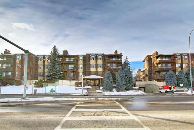 3719 B 49 Street NW #303, Calgary, AB T3A 2C7 (#C4286541) :: Calgary Homefinders
