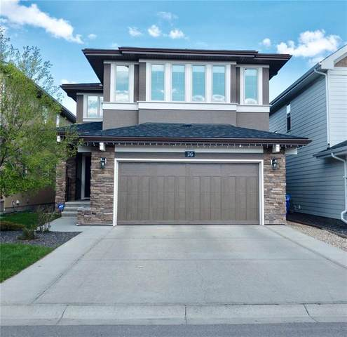 36 Aspen Summit View SW, Calgary, AB T3H 0V6 (#C4286566) :: Canmore & Banff