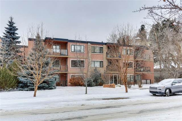 716 3 Avenue NW #107, Calgary, AB T2N 0J1 (#C4286570) :: Calgary Homefinders