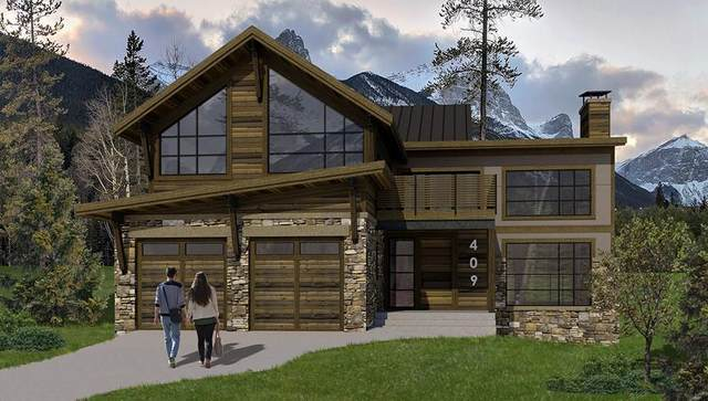 409 Stewart Creek Close, Canmore, AB T1W 0L6 (#C4286797) :: Canmore & Banff