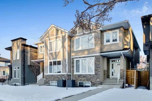 3820 2 Street NW, Calgary, AB T2K 0Y4 (#C4286995) :: Calgary Homefinders