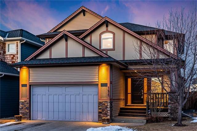 154 Luxstone View SW, Airdrie, AB T4B 0J9 (#C4287088) :: The Cliff Stevenson Group