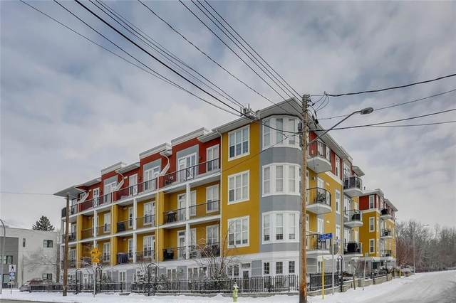 208 Holy Cross Lane SW #116, Calgary, AB T2S 3G3 (#C4287237) :: Calgary Homefinders