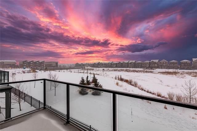 70 Saddlestone Drive NE #401, Calgary, AB T3J 0W4 (#C4287380) :: Calgary Homefinders