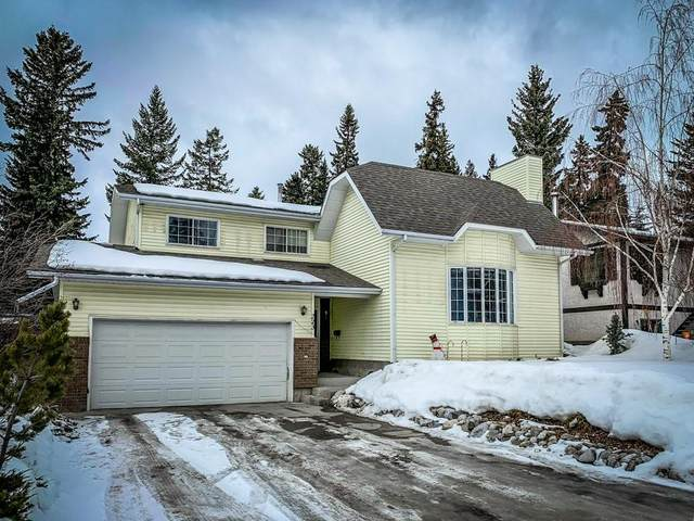 223 Grizzly Crescent, Canmore, AB T1W 1B9 (#C4287452) :: The Cliff Stevenson Group