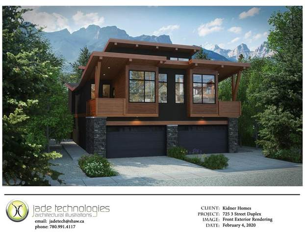 723 3rd Street, Canmore, AB T1W 2J1 (#C4287535) :: Redline Real Estate Group Inc